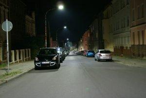 Friedensstraße in Burg