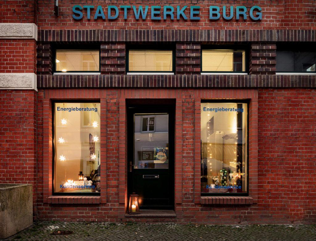 Stadtbuero Stadtwerke Burg
