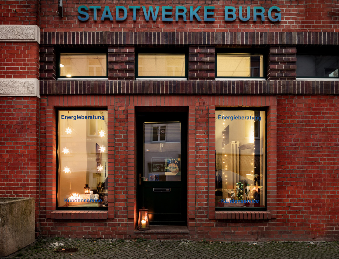 Stadtbüro Stadtwerke Burg