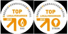 Energieverbraucher Logo Top Lokalversorger