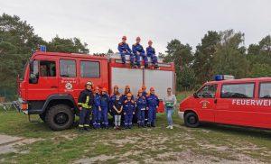 Spendenübergabe Freiwillige Feuerwehr Parchau
